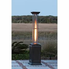 Fire Sense Deluxe Patio Heater Stainless Steel by Patio Heater Reviews Better Priced Online
