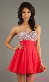 strapless short prom dresses beaded strapless dresses promgirl