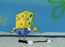 Spongebob Rips His Pants In Public Exclusive Photos And Video