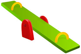 Playground clipart see saw Pencil and in color playground