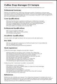 16 Sample Manager Resume