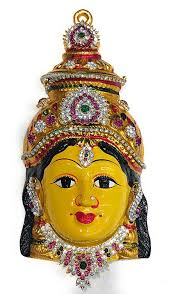 Varalakshmi Vratham Decoration Ideas Usa by Goddess Lakshmi Varalakshmi Vratam Face Set Idol Stone Decorated