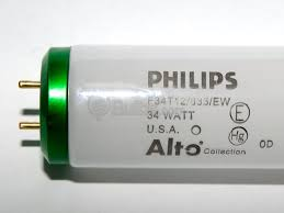 philips 34 watt 48 inch t12 neutral white fluorescent bulb