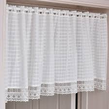 white eyelet curtains home design ideas and pictures kitchen