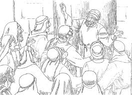 Meanwhile The Crowds Were Waiting Outside For Zechariah To Appear And They Began Wonder