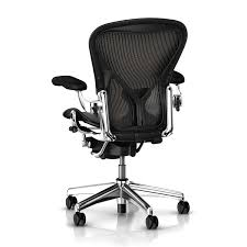 Aeron Chair Size A Vs B by Aeron Chair Executive Platinum By Herman Miller Fully Loaded Hml1035