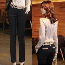 2015 Fashion Women Spring And Summer Casual Pants Formal Straight Elegant Work Wear S M L XL XXL XXXL