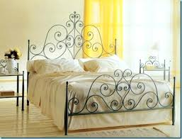 wrought iron bed frame king – prudentefo