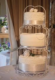 Luxury Vintage 3 Tier Wedding Cake Stand Ideas