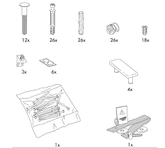 Ikea Aneboda Dresser Instructions by Ikea Malm Dresser Replacement Parts U2013 Furnitureparts Com