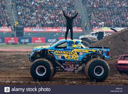 Monster Truck Show During Monster Jam, Katowice, Poland Stock Photo ...