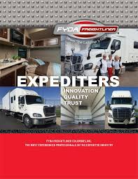 Expediters | Fyda Freightliner | Columbus, Ohio