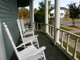 Victorian Wrap Around Rocking Chair Porch- Overlooks Paul