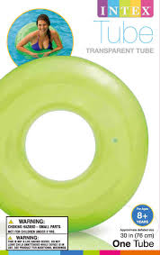 Inflatable Tubes For Toddlers by Intex Colorful Transparent Inflatable Swimming Pool Tube Raft
