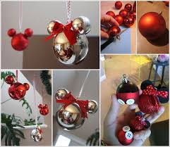 These Mickey Mouse Ornaments Are Just Adorable in Mickey Christmas