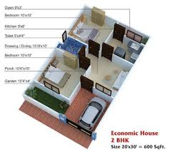 600 Sq Ft House Plans 2 Bedroom Indian Style