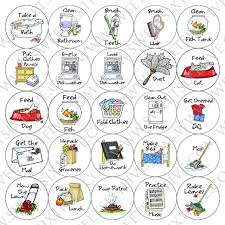 Dishwasher Clipart Chore Magnets Pack By Banner Free Stock