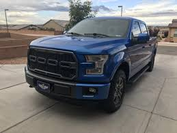 Barricade F-150 V2 Raptor Style Upper Replacement Grille W/ LED ...
