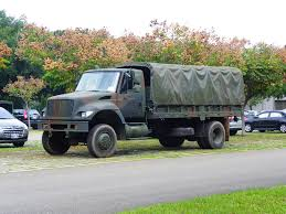 File:International 3.5ton 4WD Truck In CCK Air Base Park Lot ...