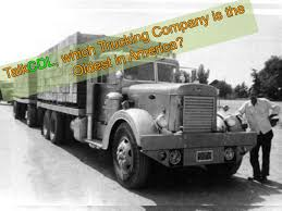 100 Trucking News With Ruthann Oldest Company In America TalkCDL