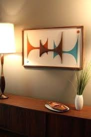 Mid Century Modern Wall Decor 8 Ideas
