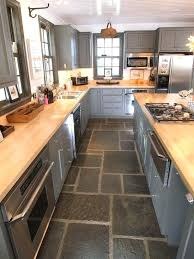 Slate Kitchen Floor Ideas 9 Flooring High Gloss And