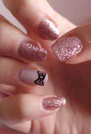 Picture 1 of 5 Glitter Nail Designs Tumblr Gallery
