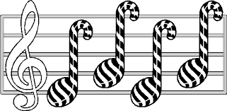 Christmas Music Coloring Pages