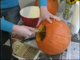 Preserving A Carved Pumpkin by How To Carve A Halloween Pumpkin How To Clean Halloween Pumpkins