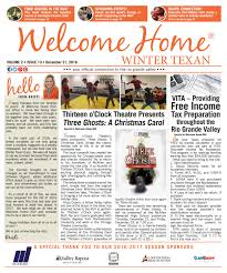 Welcome Home Winter Texan : Vol 2 Issue 10 : December 21, 2016 By ...
