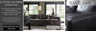 shop for bradington young leather sofas leathershoppes com