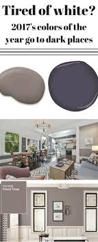 2017s Colors Of The Year Go To A Dark Place Dining Room