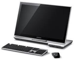 ordinateur de bureau tactile tactile