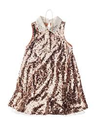 Beautees Sequin Shift Dress