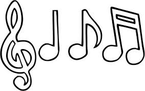 Sensational Inspiration Ideas Musical Notes Coloring Pages Music