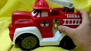 99 Chuck The Talking Truck Tonka My Fire Sounds Lights Face Ladder