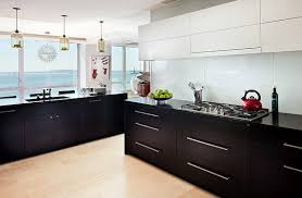Terrific Black And White Kitchen Cabinets Decoration At Exterior