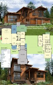 100 Modern Houses Blueprints 10 Awesomely Simple House Plans House Plans