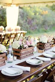 Rustic Wine Crate Table Decor