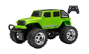 RC Truck Car Wrangler 1:16 Scale Off Road 4 Door Jeep Green Hobby ...