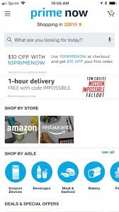 """Amazon """"Prime Now"""" Available At Walt Disney World Resort ... How Do I Find Amazon Coupons Tax Day 2019 Best Freebies And Deals To Make Filing Food Burger King Etc Yelp Promo Codes September Findercom Amagazon Promo Codes Is Giving Firsttime Prime Now Buyers 10 Offheres Now 119 Per Year Heres What You Get So Sub Shop Com Coupons Bommarito Vw Expired Get 12 Off Restaurants When Top Reddit September Swiggy Coupon For Today Flat 65 Off Offerbros"""