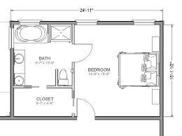 20 X 14 Master Suite Layout