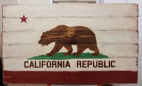 California State Flag Planked Wood Wall Art By Whimsynwood On Etsy Also Facebook At Whimsyandwood Contests Coupon Codes