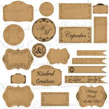 Paper Label Sticker Templates