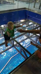 Blake Wasnt Sure About This Glass Flooring Where There Were Large Fish Maybe