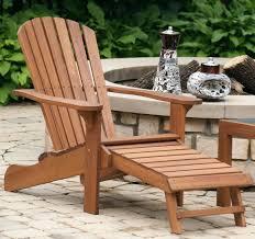 Polywood Adirondack Chairs Folding by Ottomans Adirondack Chair With Ottoman Costco Pullout Reclining