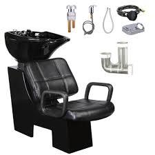 salon hair washing shoo backwash bowl unit sink chair hair trap
