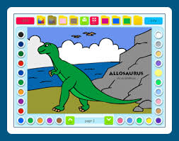 Coloring Book 2 Dinosaurs Download