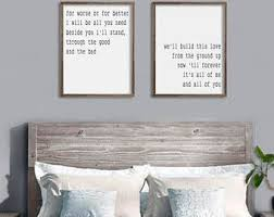Bedroom Wall Decor From The Ground Up All Of Me Loves You