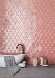 Tile For Less Bothell Washington by Handmade New Terracotta Tiles Glazed Pink Diamond Bathroom